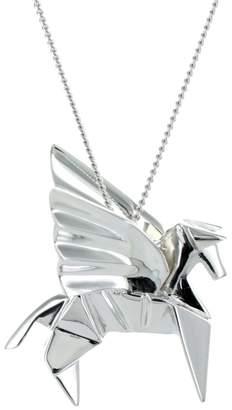 Origami Jewellery Pegazus Necklace Silver