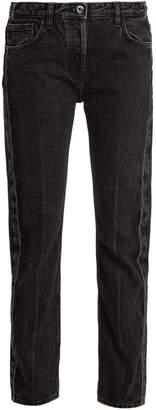 Ashland mid-rise straight-leg jeans
