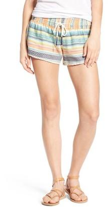 Women's Rip Curl Sun Print Woven Shorts $44 thestylecure.com