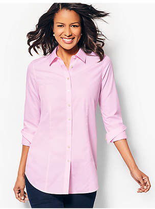 Talbots Longer Length Perfect Shirt - End-on-End