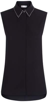 Victoria Beckham Victoria, Embellished Collar Shirt