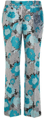 Michael Kors Floral Cropped Trouser