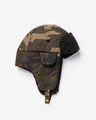 Express Camo Trapper Hat