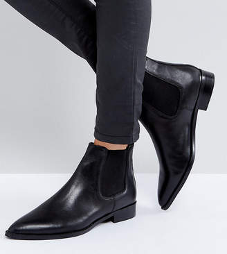Asos Design AUTOMATIC Leather Chelsea Boots
