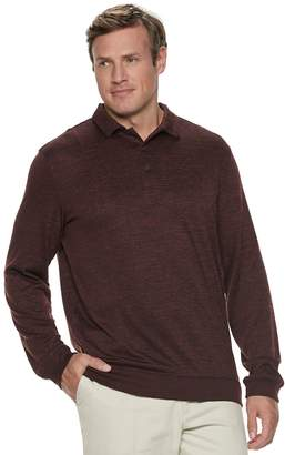 Van Heusen Big & Tall Performance Polo Sweater