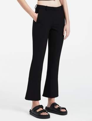 Calvin Klein double weave stretch skinny kick pants