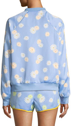 Juicy Couture Daisy Satin Bomber Jacket