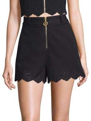 Derek Lam Cotton Eyelet Shorts