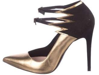 Barbara Bui Metallic Flame Pumps