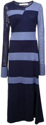 Kimora Lee Simmons stripped knit dress