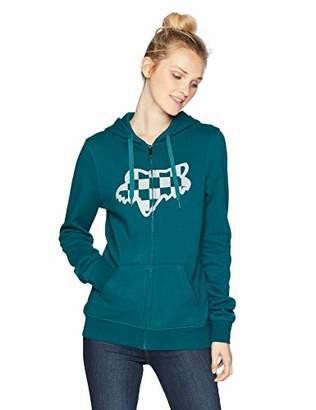Fox Junior's Check Head Zip Hooded Sweatshirt