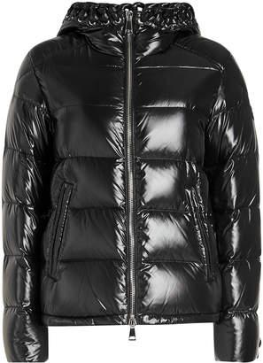 Noir Kei Ninomiya Moncler Genius 6 Moncler Quilten Down Jacket with Leather