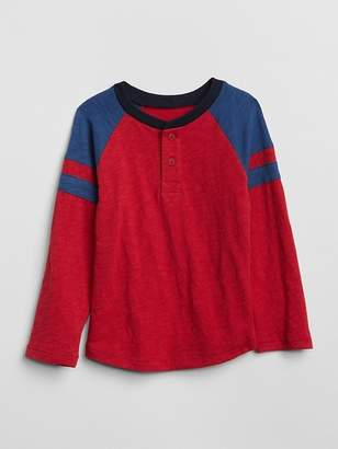 Gap Rugby Stripe Henley T-Shirt