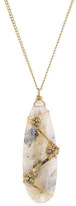 """Dana Kellin Wrapped Stone Necklace, 28.5"""""""