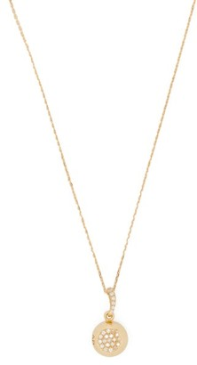 Aurelie Bidermann Fine Jewellery Fine Jewellery - 18kt Gold & Diamond Pendant Necklace - Womens - Gold