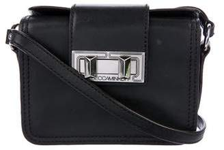 Rebecca Minkoff Leather Turn-Lock Crossbody Bag