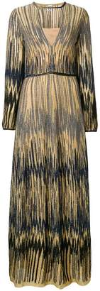 M Missoni embroidered maxi dress