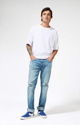 Calvin Klein Skinny Destroy Light Jeans