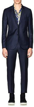 Paul Smith Men's Kensington Gingham Wool Two-Button Suit