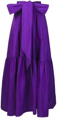 P.A.R.O.S.H. oversized bow skirt