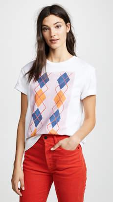 Pringle Printed Argyle T-shirt
