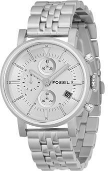 Fossil Boyfriend Silver Dial