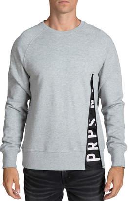 PRPS Men's Logo-Detail Fleece Sweatshirt