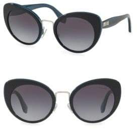 Miu Miu 53MM Butterfly Sunglasses