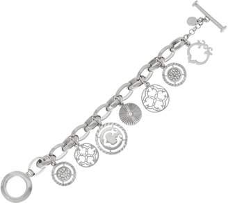 C. Wonder Knife Edge Rolo Link Signature Charm Bracelet