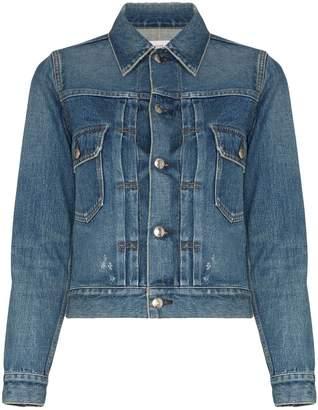 Hyke fitted denim jacket