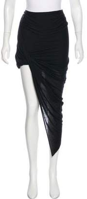 Helmut Lang Tapered Maxi Skirt