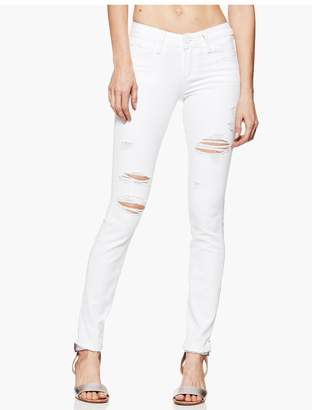 Paige Verdugo Ultra Skinny - Bright White Destructed