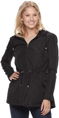 Details Women's Hooded Packable Anorak Parka