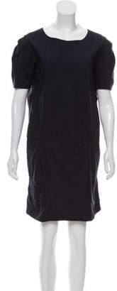 Marni Mini Shift Dress Navy Mini Shift Dress