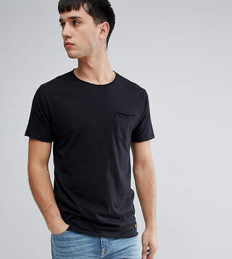 Brave Soul TALL Basic Raw Edge T-Shirt