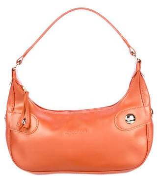 Longchamp Metallic Leather Shoulder Bag