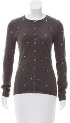 No.21 No. 21 Long Sleeve Embellished Cardigan