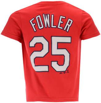 Dexter Outerstuff Fowler St. Louis Cardinals Official Player T-Shirt, Toddler Boys (2T-4T)