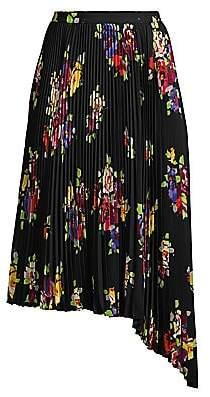 Kate Spade Women's Rare Roses Pleated Skirt