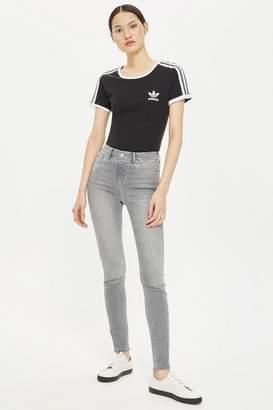 Topshop Grey Jamie Jeans