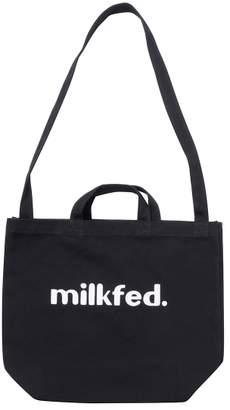 Milkfed. (ミルクフェド) - ミルクフェド SHOULDER TOTE 80S FONT
