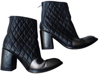 Old Gringo Black Leather Ankle boots