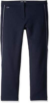 Lacoste Women's Crepe Interlock Athleisure Trousers
