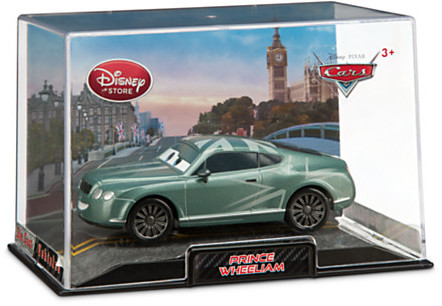 Disney Prince Wheeliam Die Cast Car - Cars 2