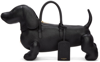 Thom Browne Black Hector Bag $2,300 thestylecure.com