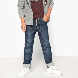 La Redoute COLLECTIONS Pull-On Jeans, 3-12 Years
