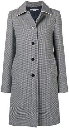 Stella McCartney houndstooth button coat
