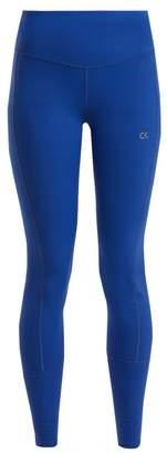 Calvin Klein High Rise Performance Leggings - Womens - Blue
