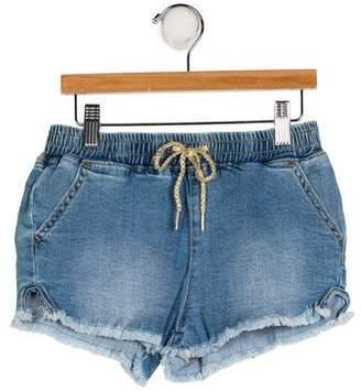 AG Adriano Goldschmied Kids Girls' Three Pocket Shorts w/ Tags
