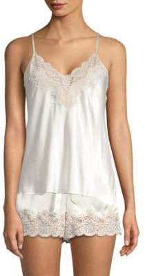 Ginia Lace-Trimmed Chemise